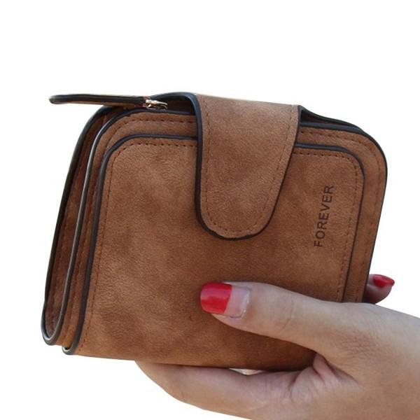 TJEtrade Wallets Leather Bifold Vintage