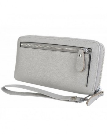 YALUXE Leather Security Wristlet Passport