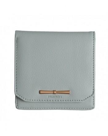 Prettyzys Wallet Zipper Holders Leather