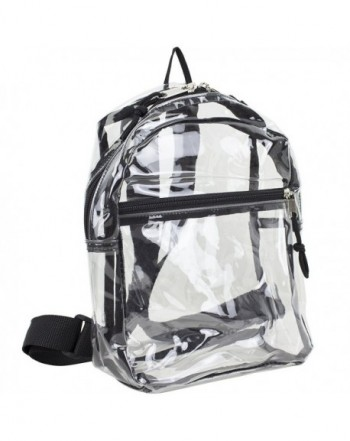 Eastsport Transparent Backpack Adjustable Straps