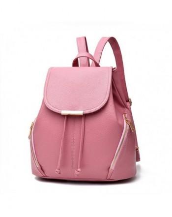 Juilletru Leather Backpacks Bookbags School