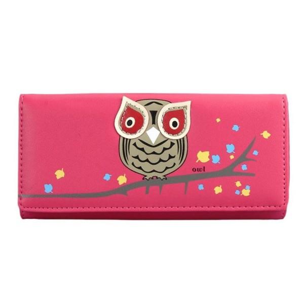 toraway Animals Pattern Leather Wallets