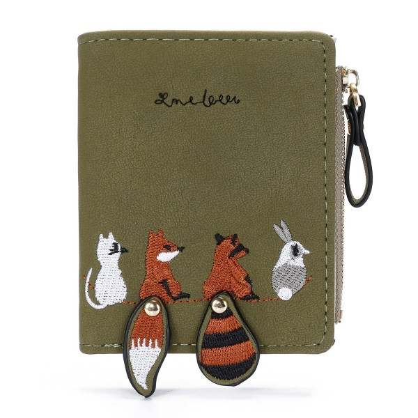 Sansarya Squirrel Wallets Animal Olivedrab