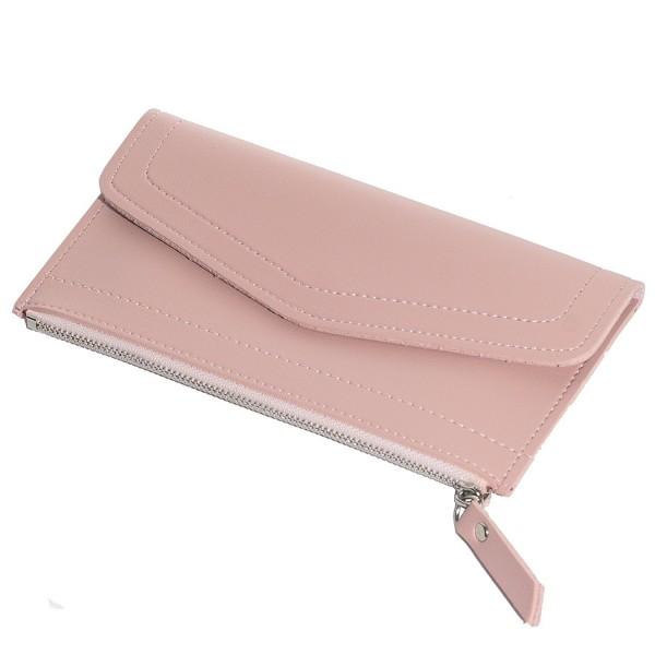 CKLT Leather Ultra Thin Purse Wallet Ladies Girls