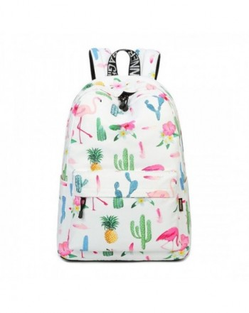 Joymoze Waterproof Backpack Lightweight Flamingo