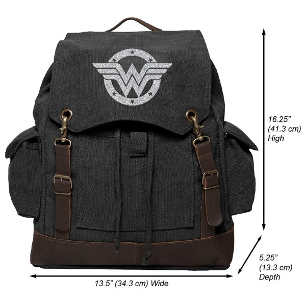 Wonder Rucksack Backpack Leather Glitter