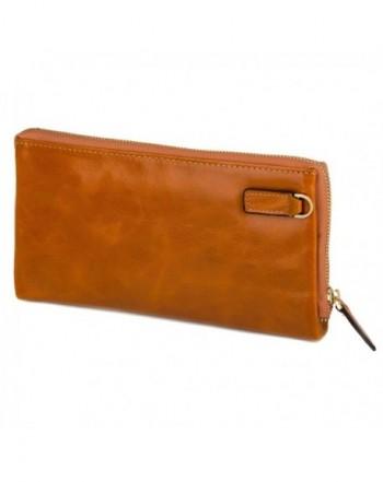 Genuine Leather Womens Wallet Minimalist