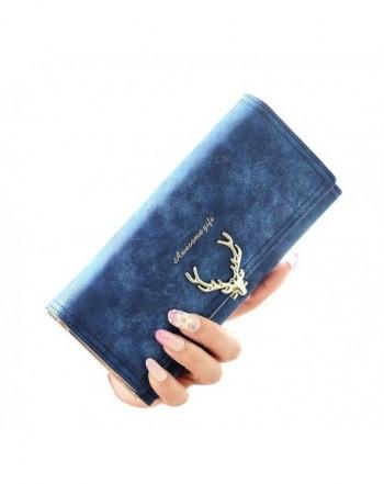 Woolala Womens Deer Type Wallet RoyalBlue