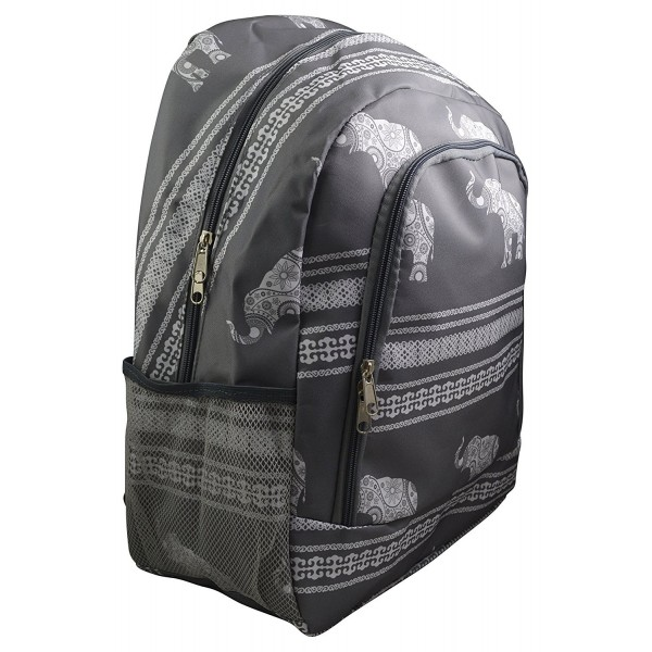 Womens Girls Printed Roomy Backpack