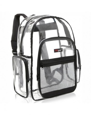 MGgear Transparent School Backpack Outdoor