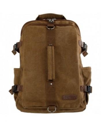 Montera Vintage Canvas Backpack Rucksack