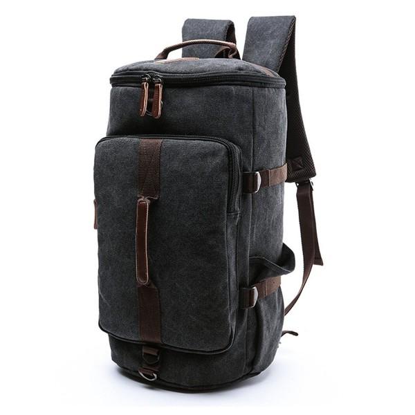 Unisex Canvas Backpack Travel Bookbag