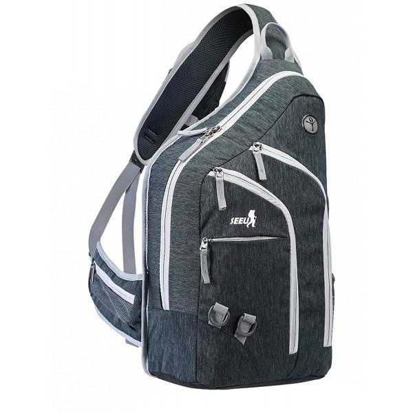 SEEU Oversized Backpack Durable Daypack