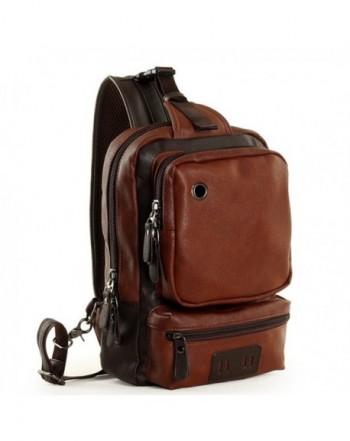 RS Leather Backpack Satchel Shoulder
