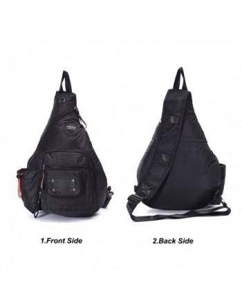 147cad5855 Sling Bags Chest Pack One Shoulder Crossbody Backpack Book Bag For ...