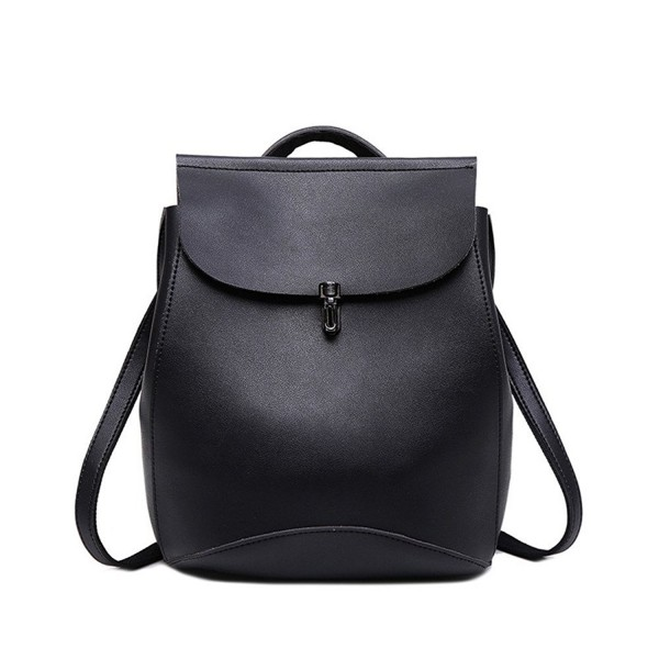 Ladies Leather Backpack Casual Travel