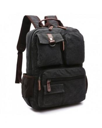 Yousu Canvas Backpack School Daypack