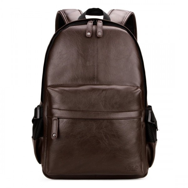 VICUNA POLO Leather Backpack Business