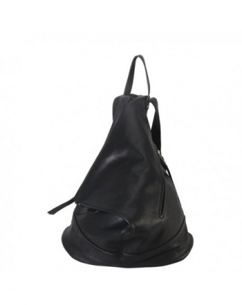Diophy Leather Fashion Backpack GO 003