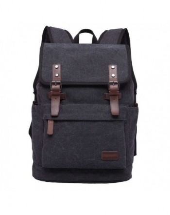 Canvas Backpack Casual Rucksack Travel