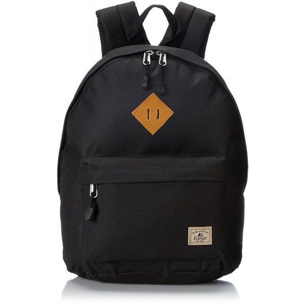 Everest Vintage Backpack Black Size
