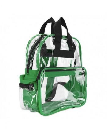 DALIX Backpack Plastic Transparent Through