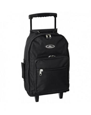 Everest Wheeled Backpack Standard Black