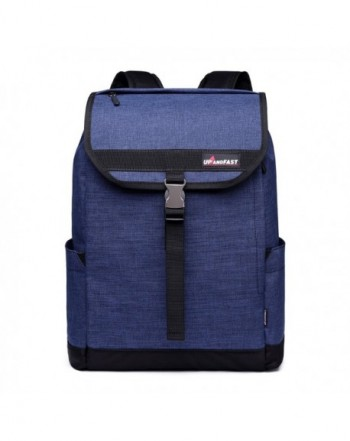 Backpack College Student Bookbag Blue