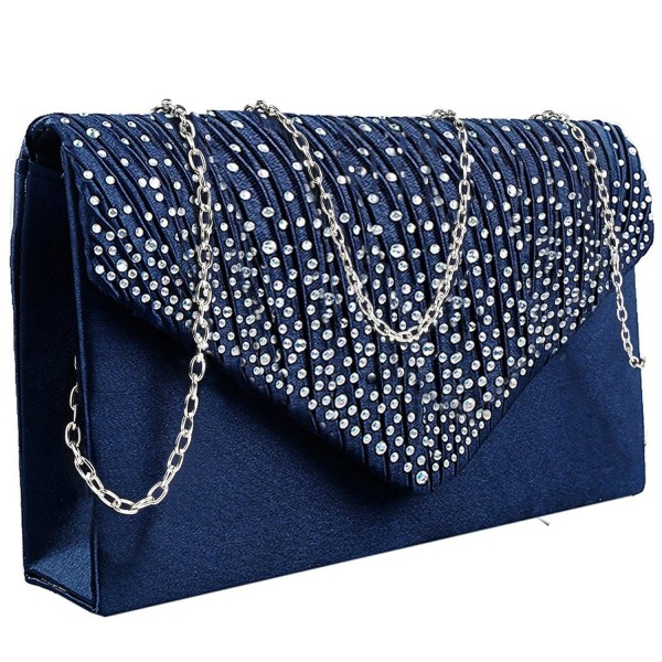 Jubileens Ladies Evening Diamante Envelope