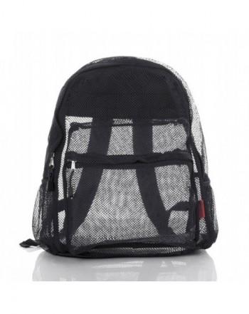 Clear Mesh Backpack Women Bravo