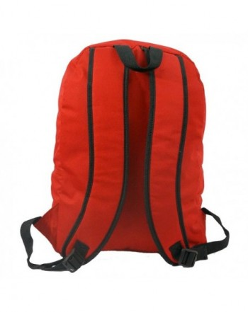 6a4239a6b321 Basic Emergency Survival Backpack Classic Simple School Book Bag ...
