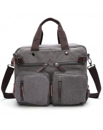 GESU Backpack Messenger Convertible Briefcase