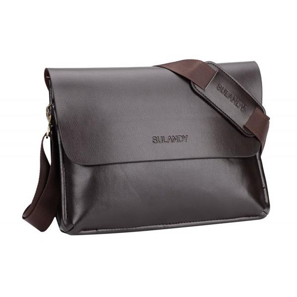 85b3ba11370 Sulandy Genuine Messenger Shoulder Briefcase. . Sulandy Genuine Messenger  Shoulder Briefcase. Men Briefcases. Bags On Sale