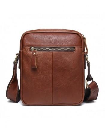 09b5fd0b8a07 Genuine Leather Mens iPad Messenger CrossBody Bag Tab Handbag Brown -  CS11X1RSKNF