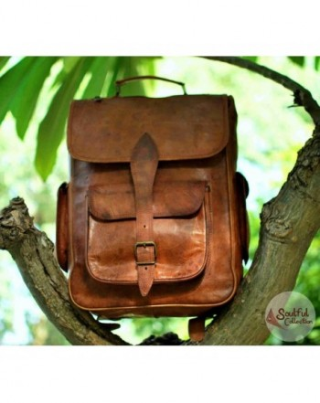 Handolederco Vintage Leather Handmade Backpack