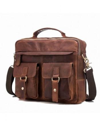 Genuine Messenger Briefcase Crossbody Shoulder