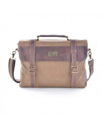 Gootium Leather Messenger Shoulder Briefcase