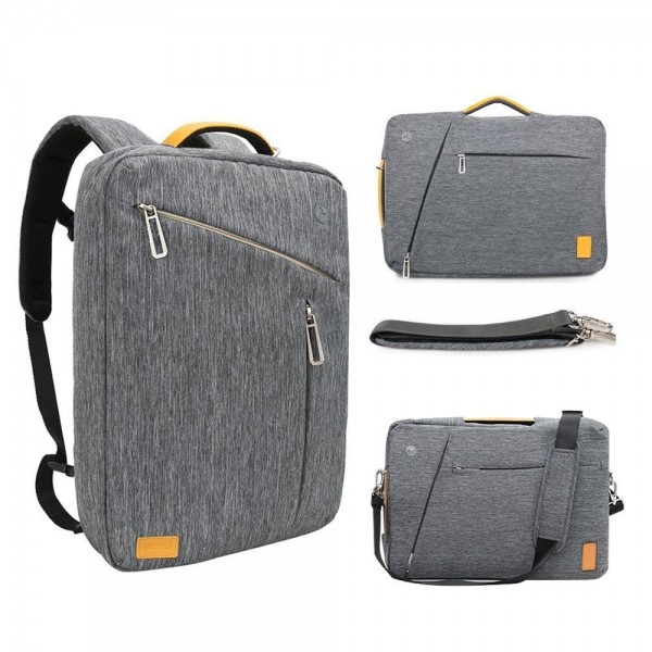 17.3 Inch Convertible Laptop Backpack Gray