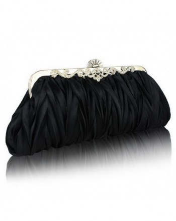 FASHIONROAD Fashion Pleated Cocktail Handbags