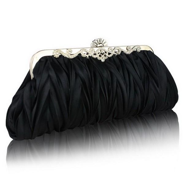 FASHIONROAD Fashion Pleated Cocktail Handbags