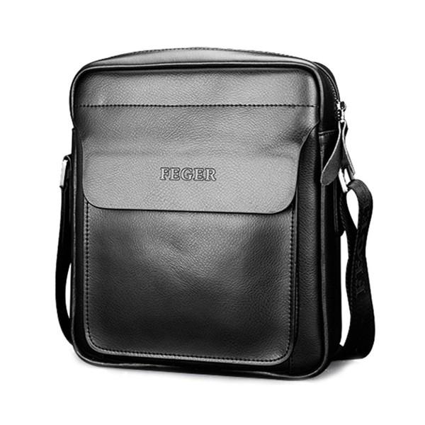 Leather Shoulder Travel Messenger Business