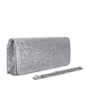 ECOSUSI Dazzling Evening Handbag Detachable