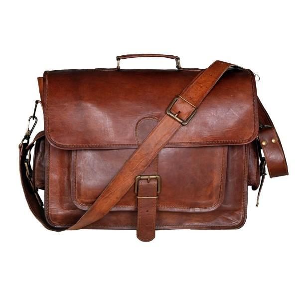 Handmadecraft Vintage Leather Laptop Bag 15