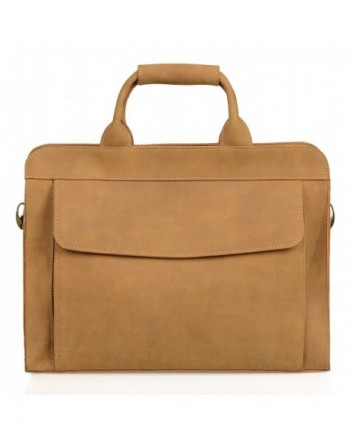 AIDERLY Briefcase Leather Messsenger Business