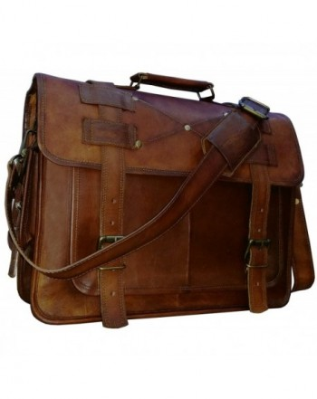 messenger briefcase distressed VINTAGE COUTURE