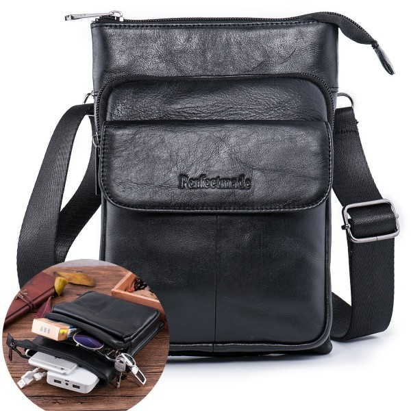 b030920e50 Leather Messenger Shoulder Everyday Satchel. . Leather Messenger Shoulder  Everyday Satchel. Men Crossbody Bag. Bags