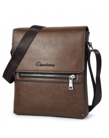 Shoulder Messenger Leather Business Briefcase
