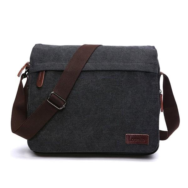 0f5e11423f891 Messenger Bag Laptop Shoulder Bags Vintage Canvas Crossbody Bag For ...