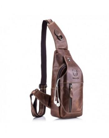 Genuine Leather Shoulder Backpack Resistant
