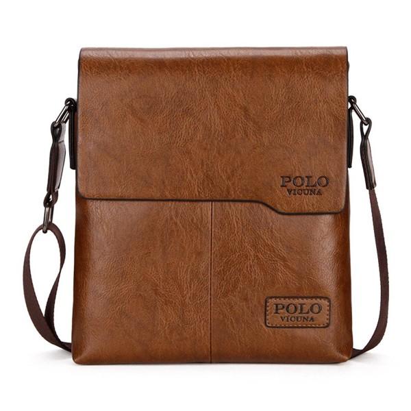 9b5109588eec Shoulder Bag Business Man Bag Messenger Bag for Men Crossbody Bag - khaki -  C917YLZ43DA
